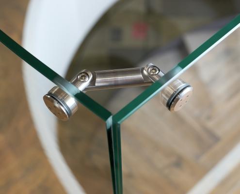 vidrio templado curvado